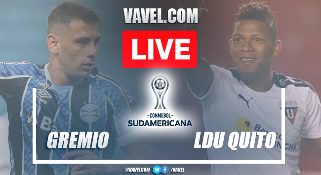 Goals and highlights: Gremio 1-2 LDU Quito in 2021 Copa Sudamericana
