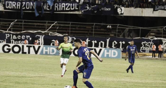 Guaycochea en el partido ante el Zamora FC // FOTO: ZULIA FC