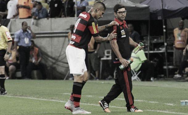 Guerrero e Ederson têm lesões confirmadas e viram desfalques no Flamengo