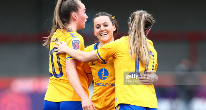 Brighton & Hove Albion Women 0-5 Everton: Seagulls put to the sword by Everton