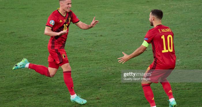 Belgium 1-0 Portugal: Thorgan Hazard strike knocks holders out