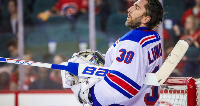 Henrik Lundqvist, golie de los New York Rangers / SNY