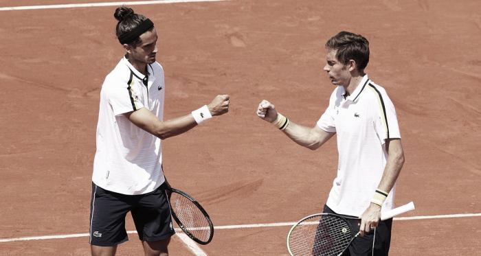 Herbert/Mahut vencem Bublik/Golubev de virada e conquistam segundo título em Roland Garros