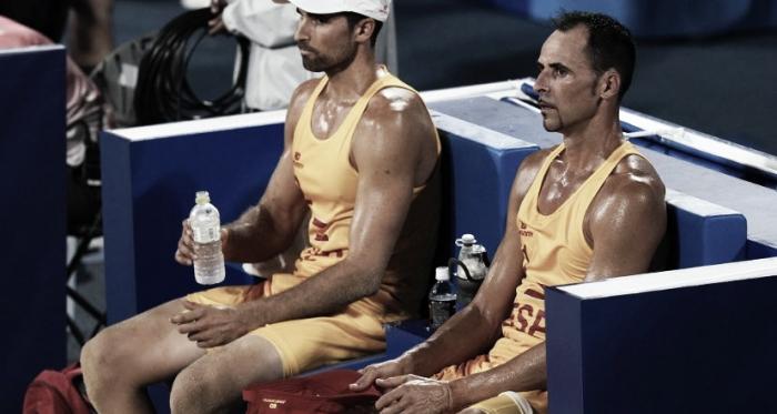 Los españoles merecieron más en Vóley Playa
