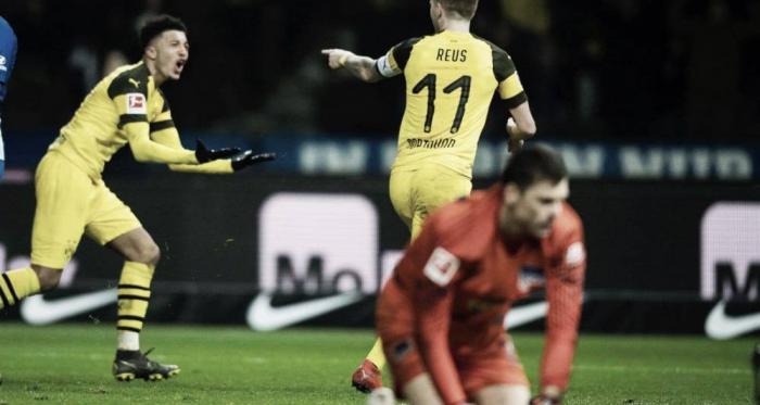 Marco Reus anotó su gol15 de la temporada. FOTO: @BVB