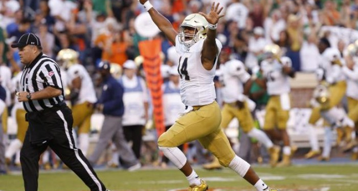 QB Competition at Notre Dame Very Intriguing