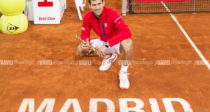 Galería de imágenes de la victoria de Novak Djokovic sobre Andy Murray