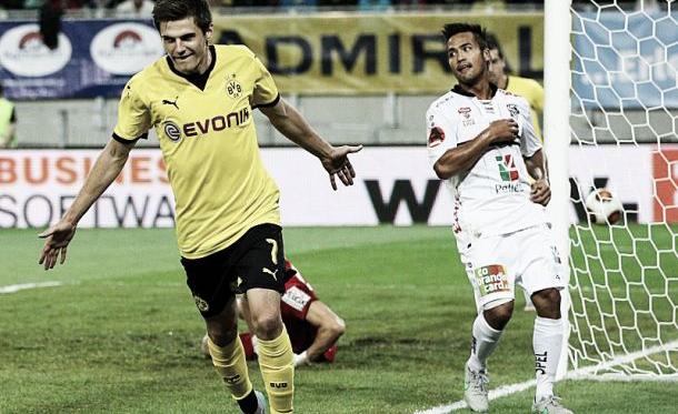 Wolfsberger AC 0-1 Borussia Dortmund: Hofmann seals first leg win