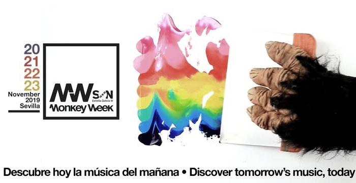Cartel oficial del Monkey Week | Fuente: Página Web del Festival