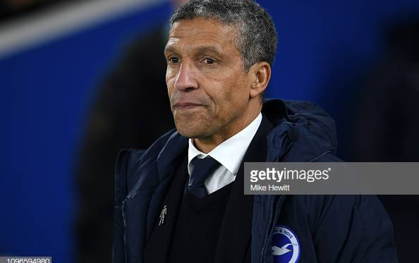 Hughton on the side-line image courtesy of Mike Hewitt on Getty Images.