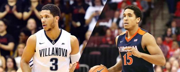 Villanova guard Josh Hart and Virginia senior Malcolm Brogdon. USA Today Sports