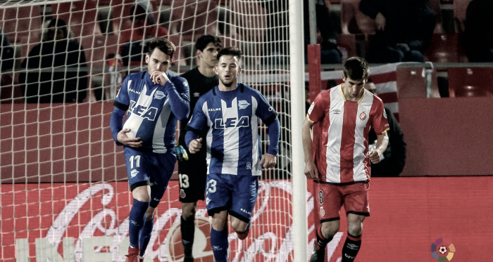 Un hat-trick de Ibai Gómez da vida al Alavés en Montilivi