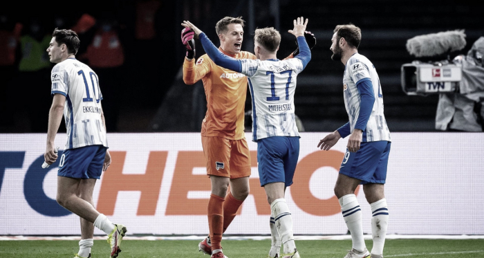 Hertha Berlin vence Borussia M'Gladbach em partida equilibrada