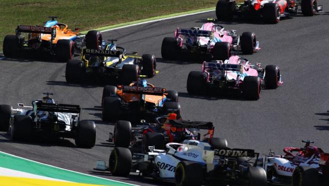 ¿Quién decía que la Fórmula 1 era aburrida?