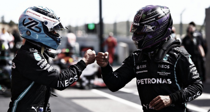 Bottas surpreende, bate Hamilton e marca pole no GP de Portugal