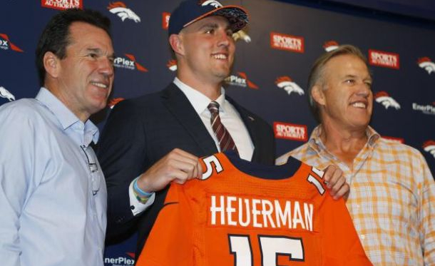 Broncos Rookie Tight End Jeff Heuerman To Miss Season With A Torn ACL