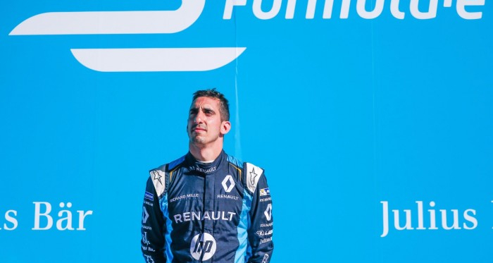 The championship was Buemi's to lose after Paris. And he did. (Image Credit: Renault E.Dams)