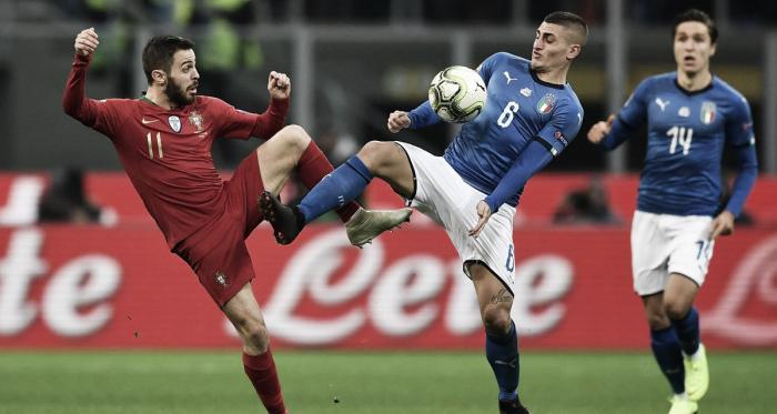 Italia y Portugal no lograron sacarse diferencias. Los lusos clasificaron al Final Four   Fuente: UEFA.
