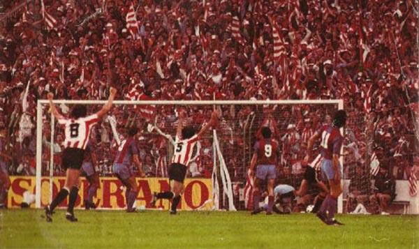 Serial Finales de Copa Athletic - Barcelona: 1984, último título bilbaíno