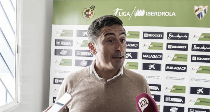 Antonio Contreras en rueda de prensa. | Foto: Javi Muñoz (VAVEL)