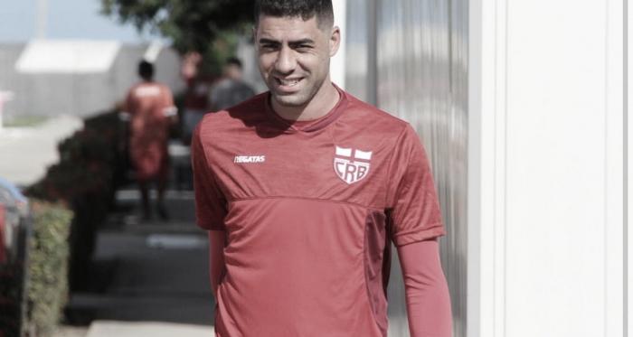 Xandão espera manutenção de forte ritmo para CRB garantir vaga na Copa do Brasil sobre Paysandu