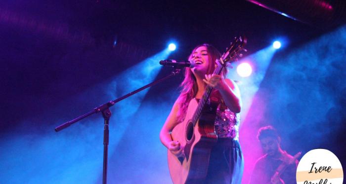 Marta Soto durante el concierto // Image: Irene Millán