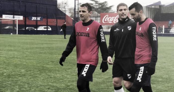 Montillo sumó minutos. Su regreso está encaminado (Foto: Prensa Tigre).