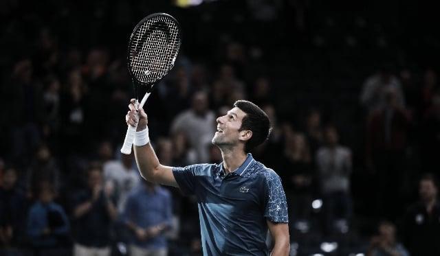 Nole vuelve a estar en la cima del tenis. | Foto: Prensa Rolex París Masters.