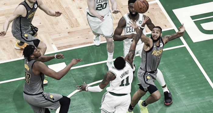 Boston ganó un duro encuentro. Foto: Boston Celtics