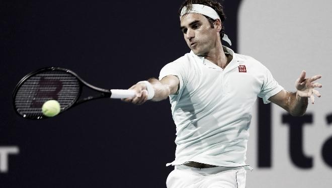 Federer ganó su título 101. Foto: Miami Open