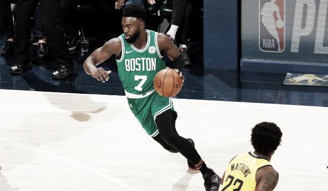 Boston pasó la escoba a indiana. Foto: NBA