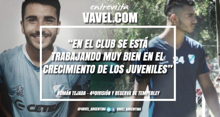 Román Tejeda en exclusiva para Temperley VAVEL. Foto: VAVEL
