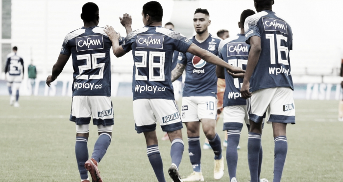 Estadísticas del debut con victoria de Millonarios ante Envigado
