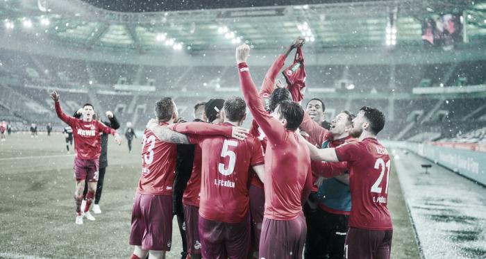 Colônia ganha sobrevida contra queda ao bater M'gladbach no Borussia Park