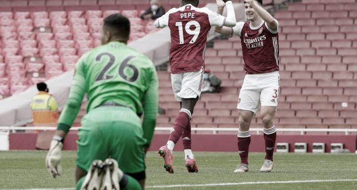 Arsenal vence Brighton,mas termina temporada sem vaga em competições europeias