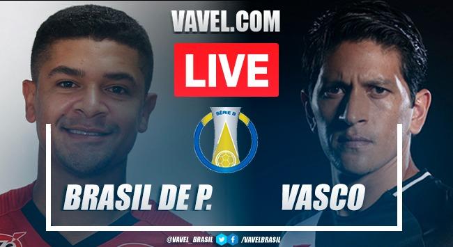 Gols e melhores momentos de Brasil de Pelotas 1x2 Vasco pela Série B