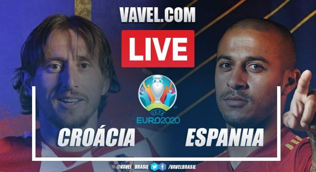 Gols e melhores momentos de Croácia 3x5 Espanha pela Eurocopa
