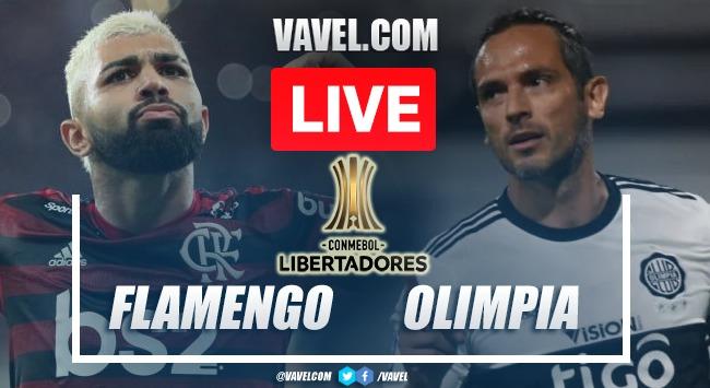 Goals and Highlights Flamengo 5-1 Olimpia in 2021 Copa Libertadores