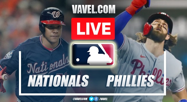 Highlights: Washington Nationals 4-7 Philadelphia Phillies in MLB 2021