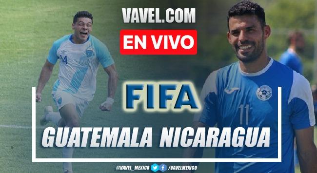 Goles y resumen del  Guatemala 2-2 Nicaragua en Partido Amistoso 2021