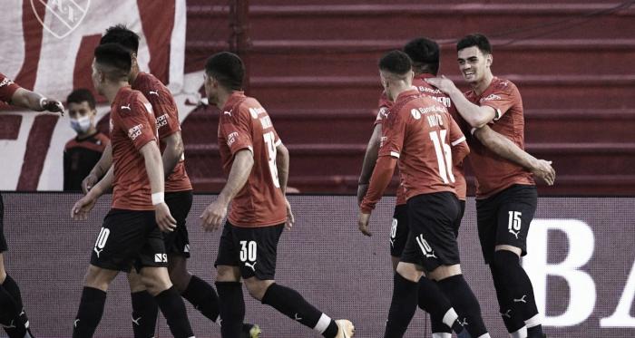 Triunfo importante de Independiente para seguir prendido en el campeonato