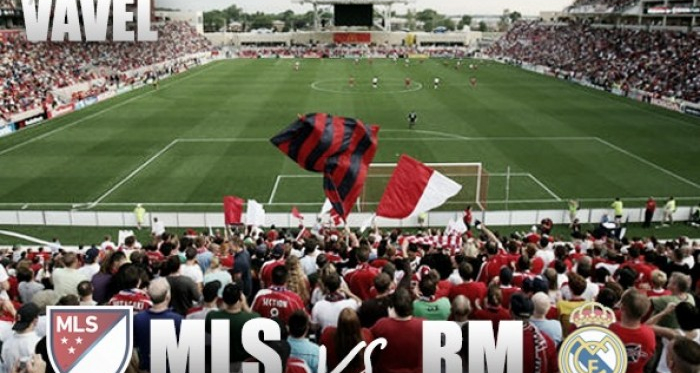 MLS All Stars vs Real Madrid will take place at Soldier Field on Wednesday.