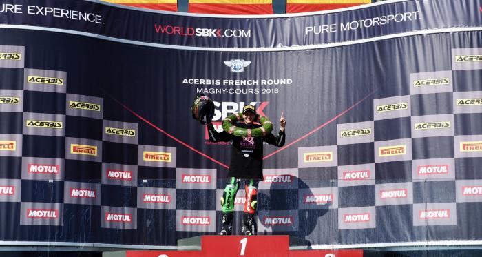Ana Carrasco, campeona mundial de Superbikes. | Foto: worldsbk.com