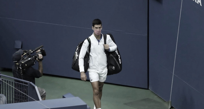Djokovic, descalificado del US Open