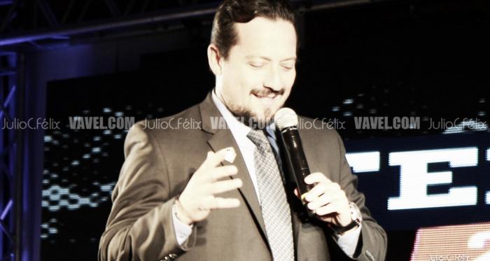 Javier Salinas inaugurando la Temporada 2018 en Tijuana. | Foto: Julio C. Félix / VAVEL.