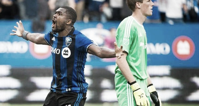 Duvall celebrates as his goal solidified Montreal's 2-0 win over D.C. United. | Source: Idaho Statesman