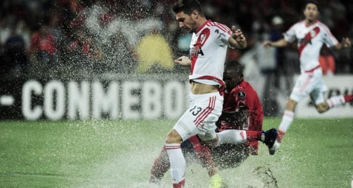Última visita. River le ganó 3-1 a Independiente Medellín. (Foto: Ole)