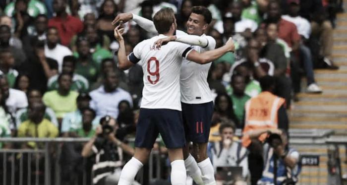 Com dificuldade, Inglaterra vence Nigéria em amistoso para a Copa do Mundo