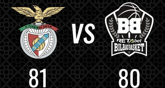 El Benfica supera al Bilbao Basket