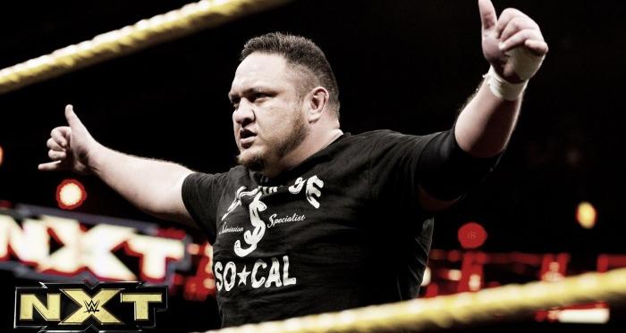 Future plans for Samoa Joe